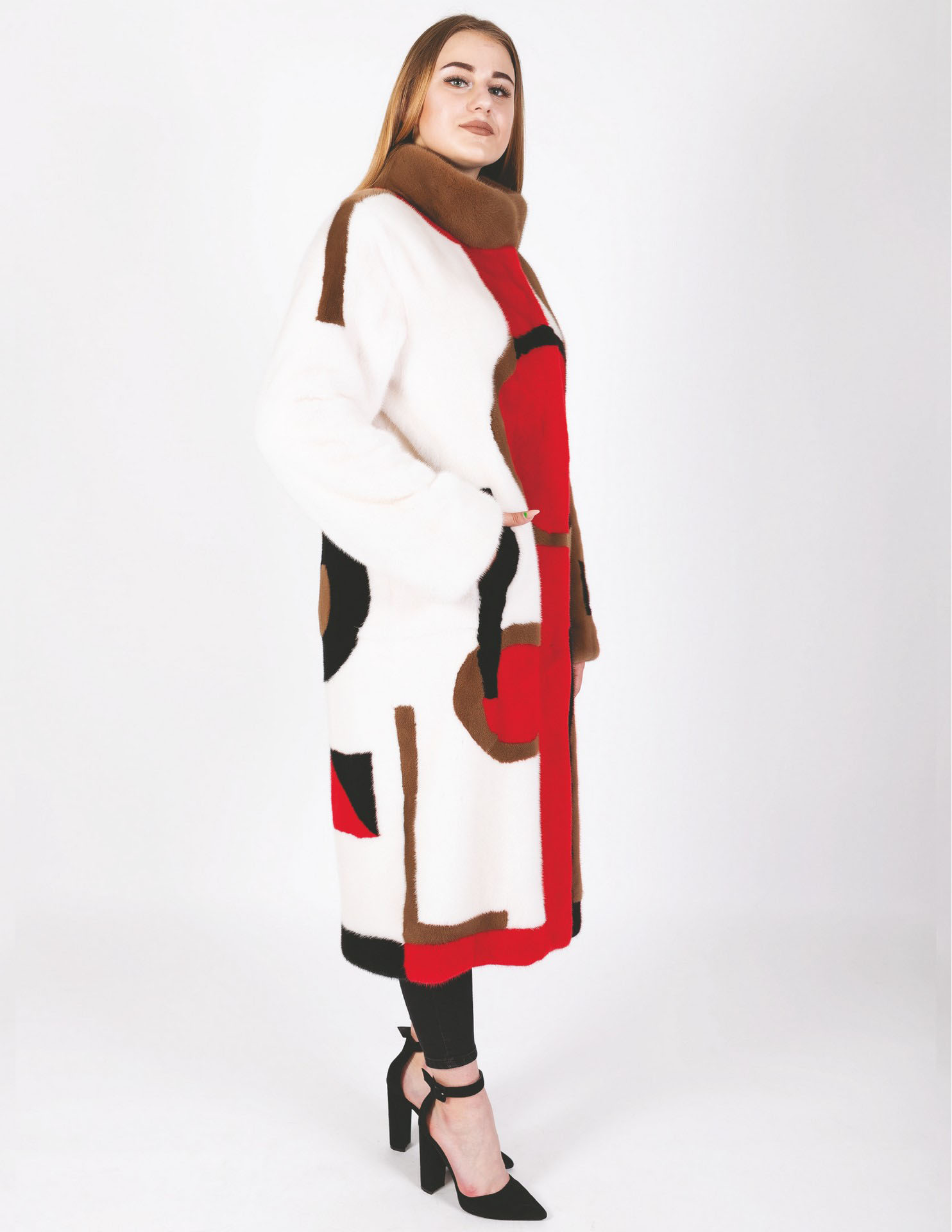 Пальто из Канадской норки Luxor 730