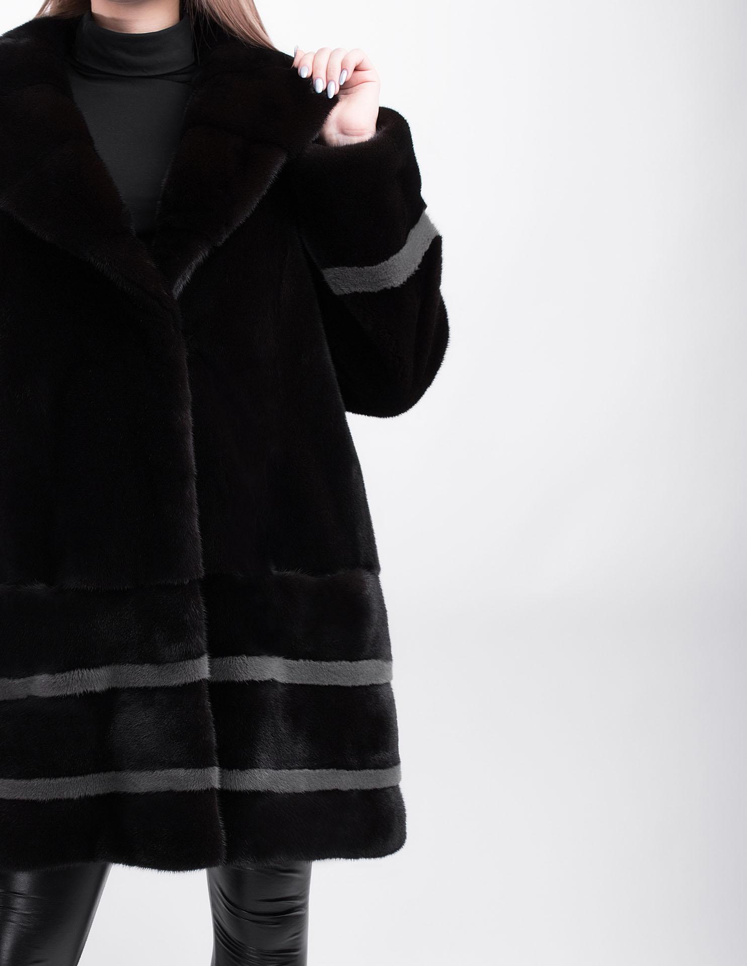 Норковая шуба Langiotti Blackglama 423
