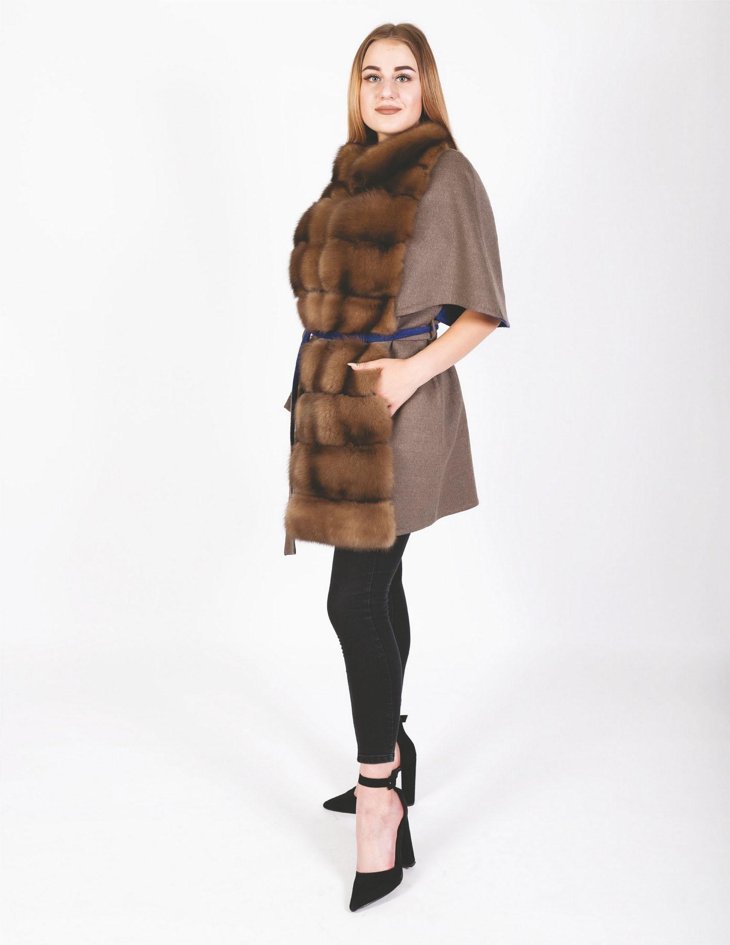 Пальто из итальянского кашемира Loro Piana 733